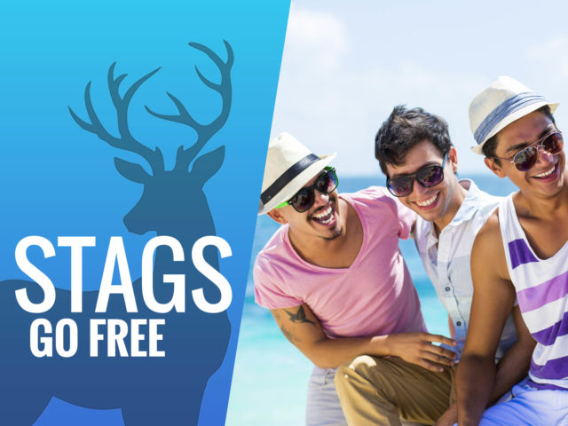 Stag Goes Free On Packages
