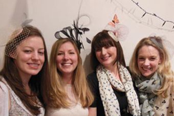 Mobile Fascinator Making Birthday Party in London