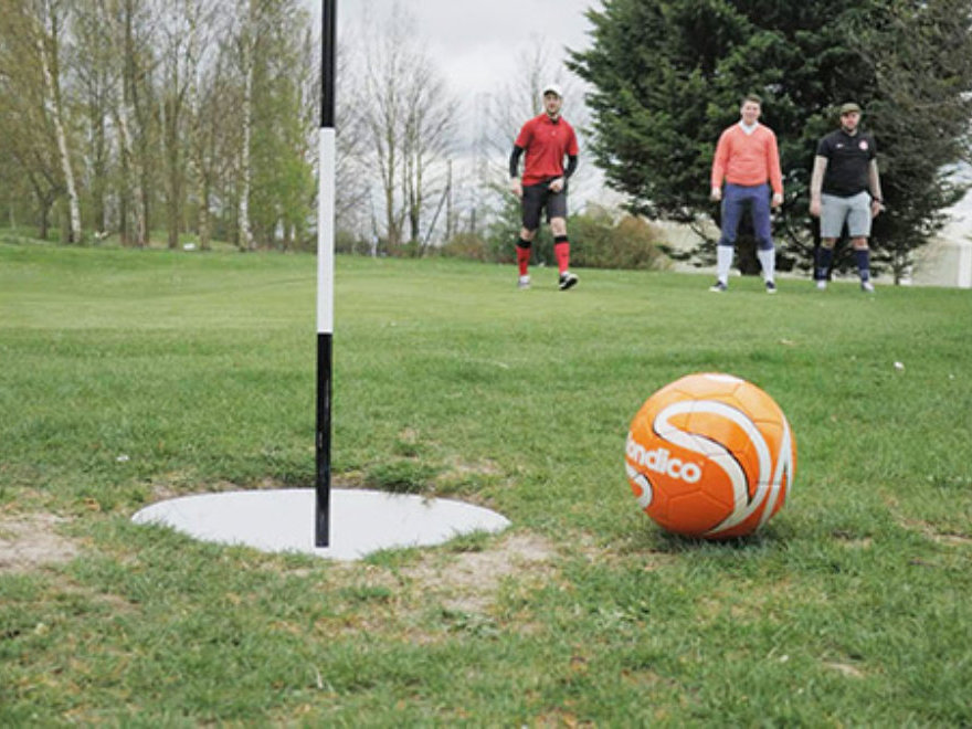 Footgolf Birthday Party Liverpool