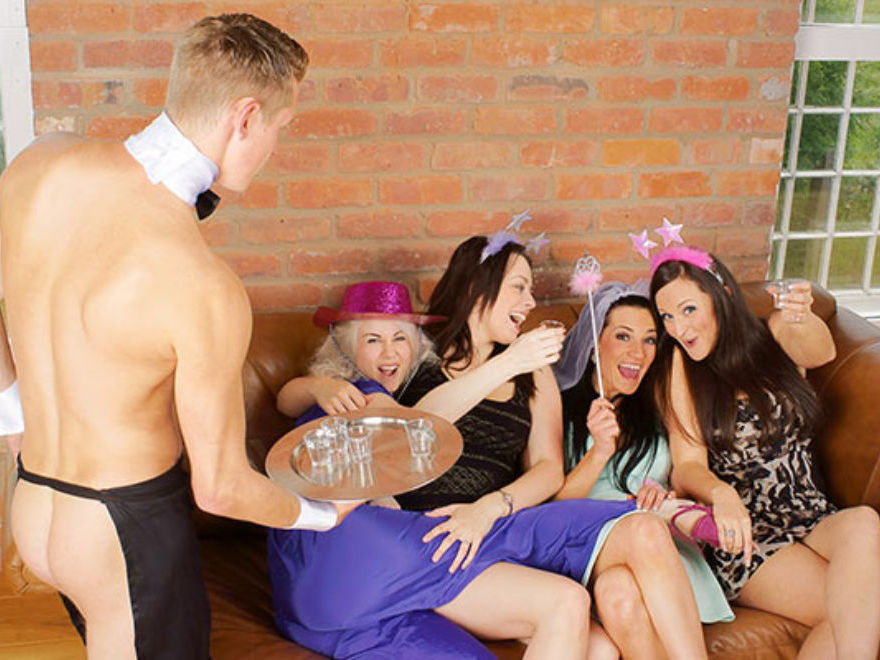 Naked Butlers Birthday Party Swansea