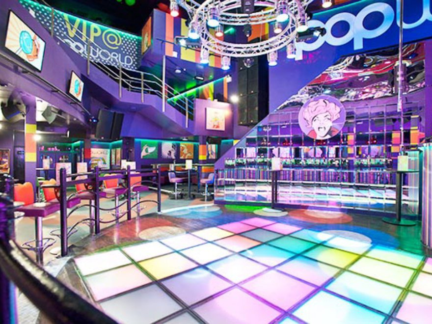Popworld Nightclub Entry Birthday Party Birmingham