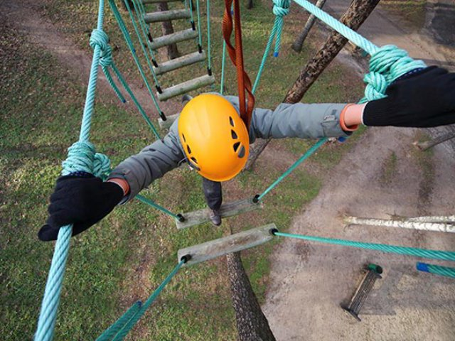 High Ropes, Abseil & Zip Lines
