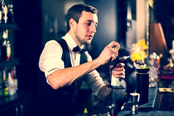 Hire a Bartender for your London Christmas Party!