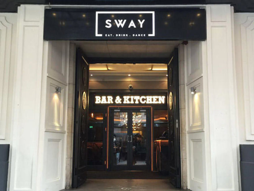 Sway Bar - Christmas Party London