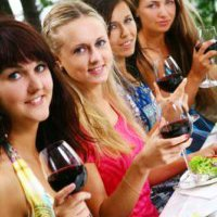 2 Course Meal Hen Party Swansea