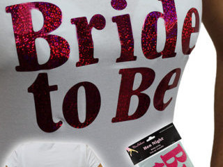 Bride to Be Iron on Transfer