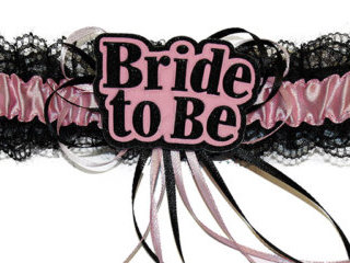 Sexy Bride to Be Garter