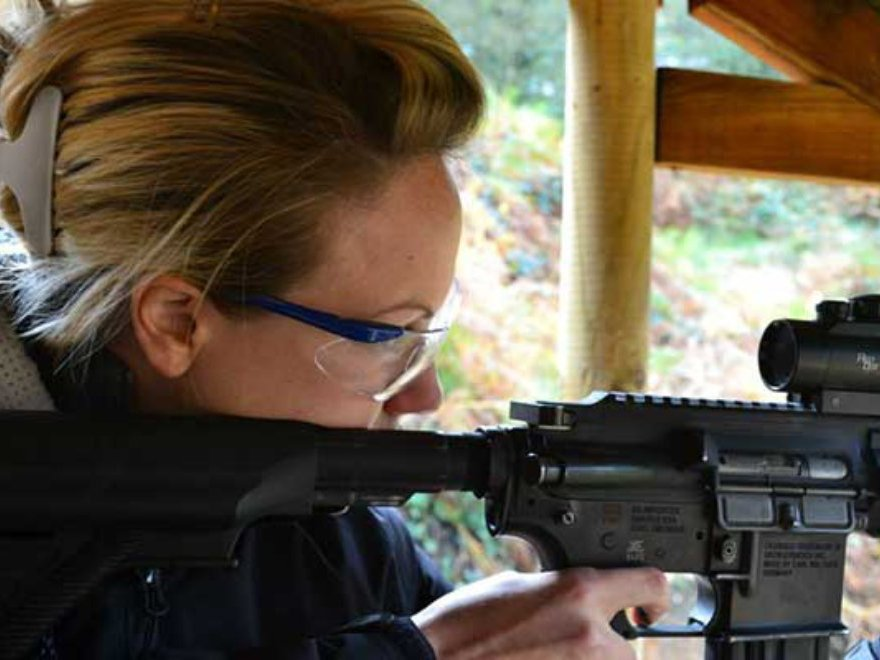 Assault Rifles Hen Party Bristol