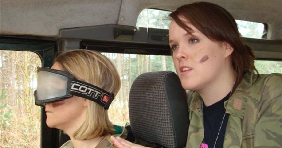Blindfold 4x4 Driving Hen Party Nottingham