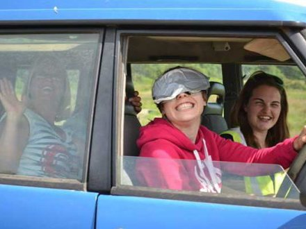 Blindfold 4x4 Driving Hen Party Bristol