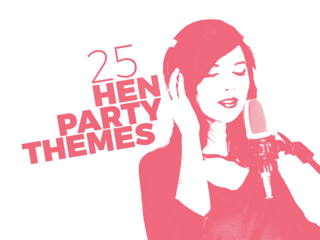 25 Hen Party Themes