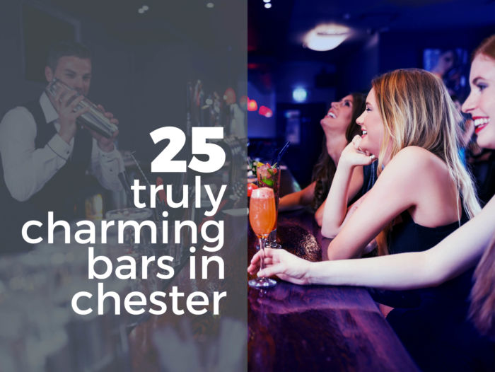 25 Truly Charming Bars in Chester Cover