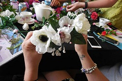 Crafty and Creative Hen Party Flower Crowns