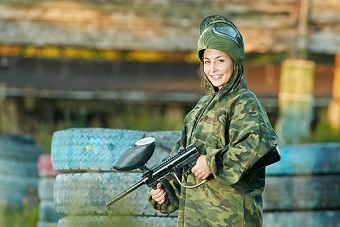 An Adrenaline Pumping Paintballing Hen Party