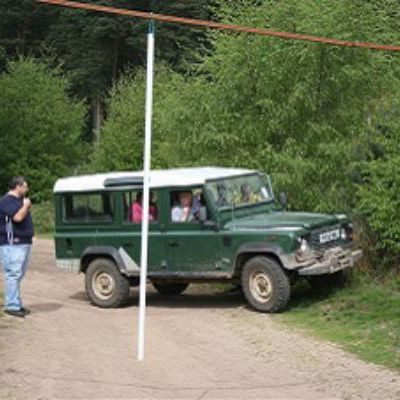 Blindfold 4x4 Driving Hen Party in Nottingham
