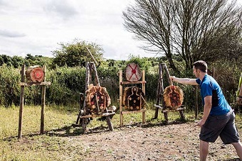 Bournemouth Axe Throwing, Archery & Blindfold Driving Stag Do!