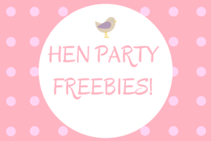 Freebie Hen Party Packs