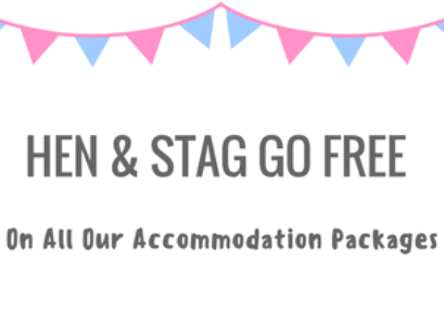 Hen & Stag Goes FREE on ALL Packages!