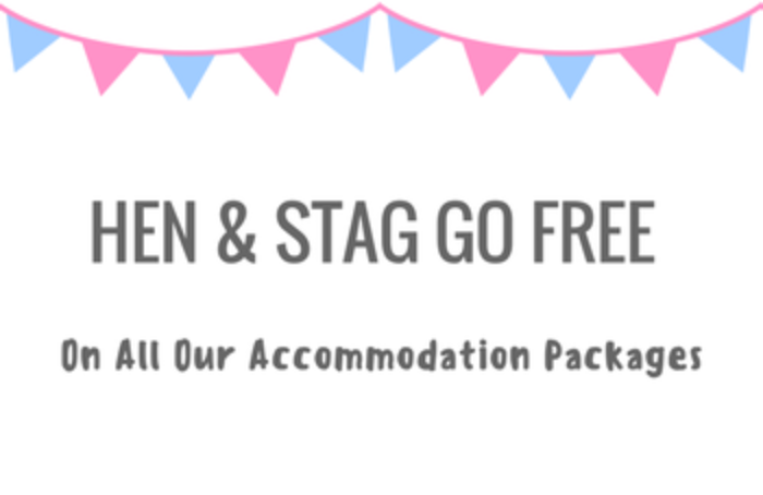 Hen & Stag Goes FREE on ALL Packages! cover