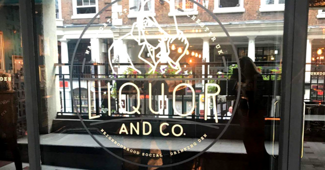 Liquor & Co Bar Chester