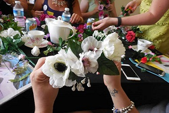 Get Creative with a Mobile Flower Crown Making Hen Party