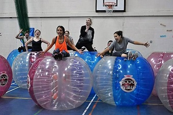 School Sports Day & Zorb Bubble Games Hen Do
