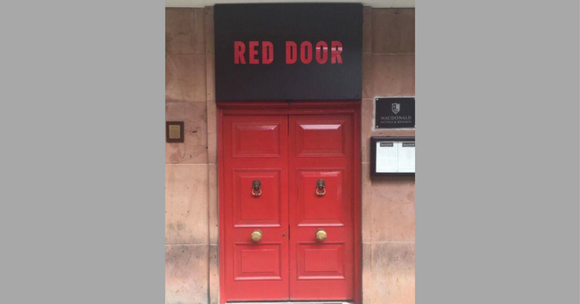 Red Door Bar Chester