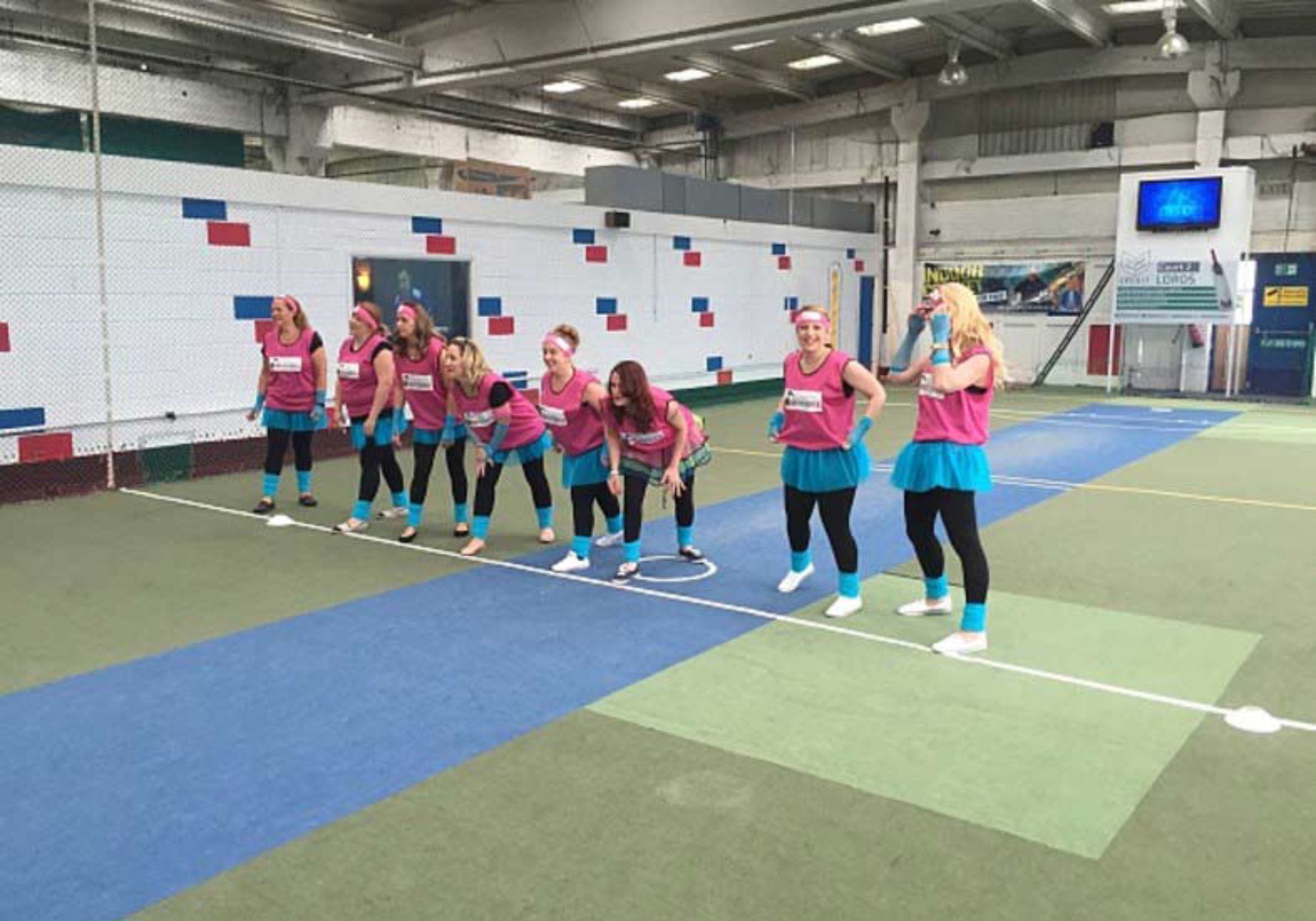Disco Meets Dodgeball Hen Party