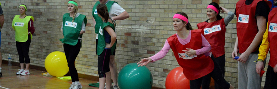 Old School Sports Day & Zorb Bubble Games Hen Party
