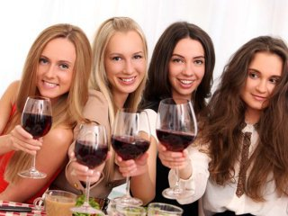 Café Rouge French Meal Hen Party York