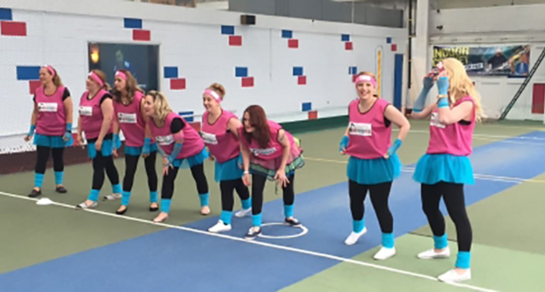 Disco Dodgeball Hen Weekend Package Glasgow