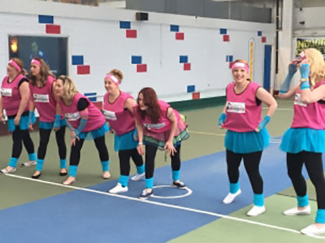 Disco Dodgeball Hen Weekend