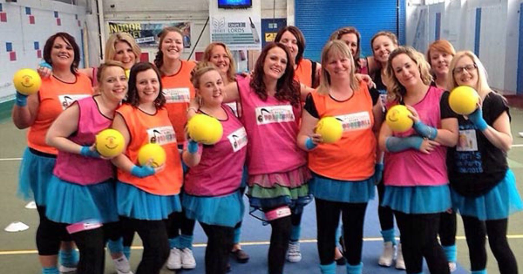 Disco Dodgeball Hen Party Edinburgh