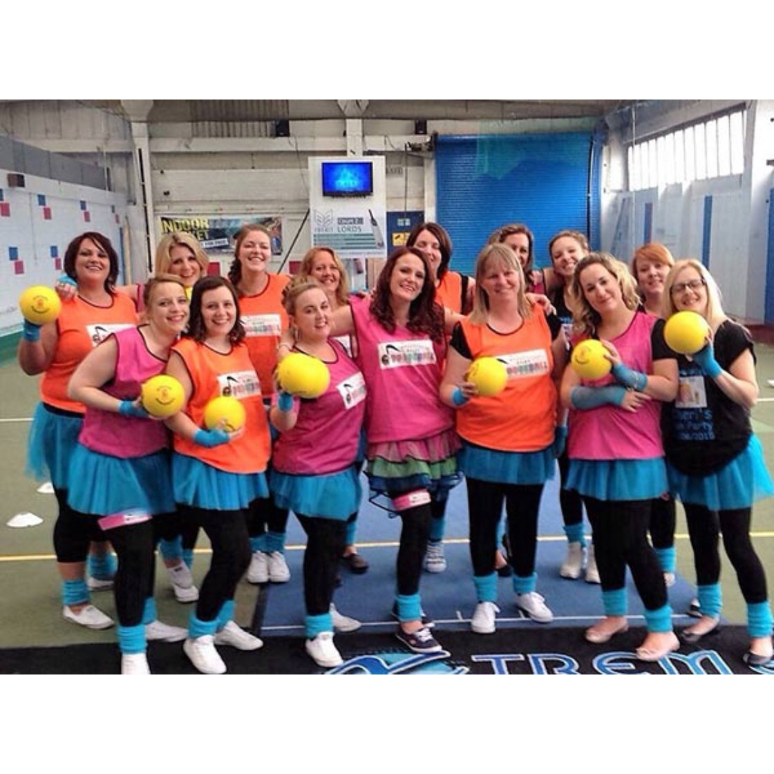 Disco Dodgeball Hen Party Glasgow