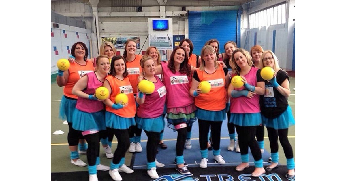 Disco Dodgeball Hen Party Leicester