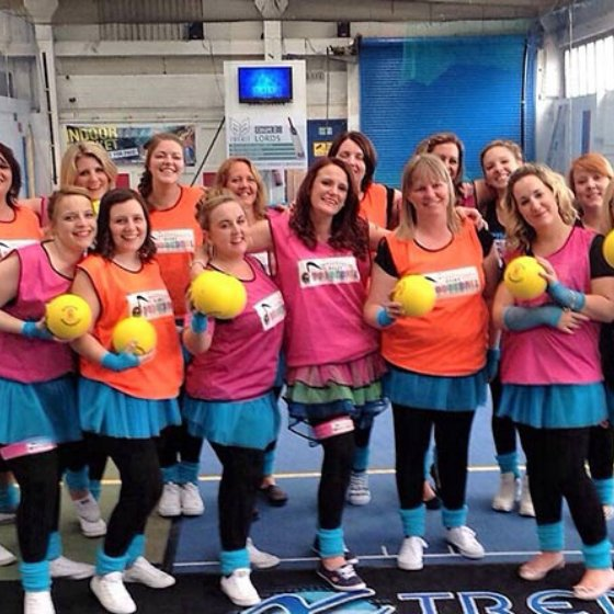 Disco Dodgeball Hen Party Portsmouth