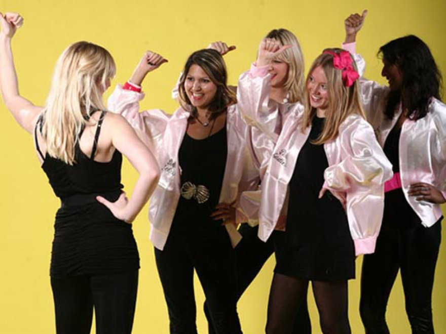 Hen Party Grease Dance Theme