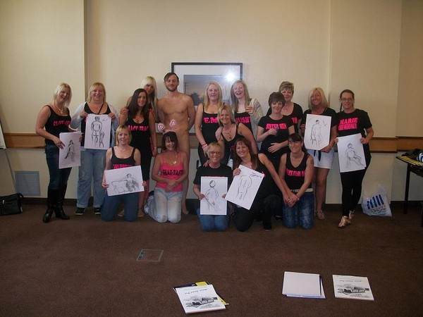Life Drawing Hen Party