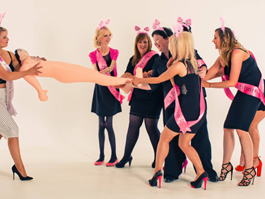 Hen Parties Makeover and Photoshoot
