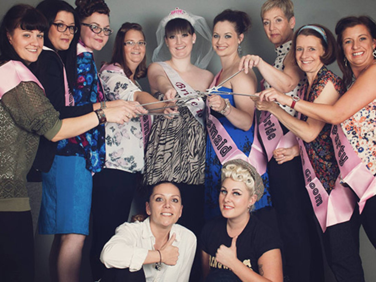 Hen Party Makeover & Photoshoot