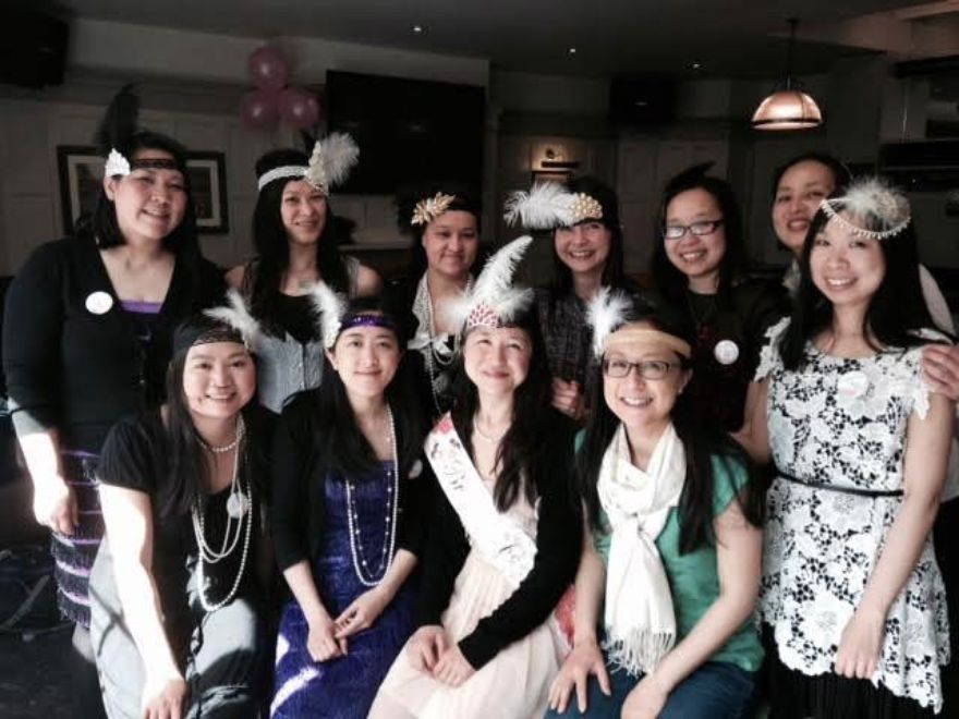 Mobile Hen Party 1920's Flapper Headband Making