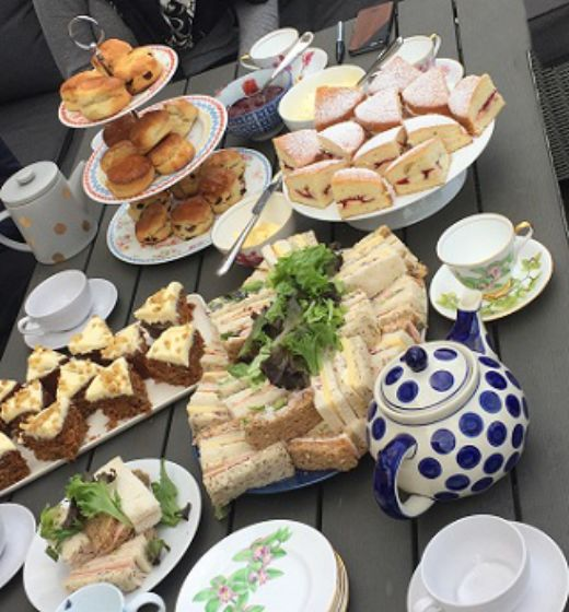 Mobile Afternoon Tea Hen Party Birmingham