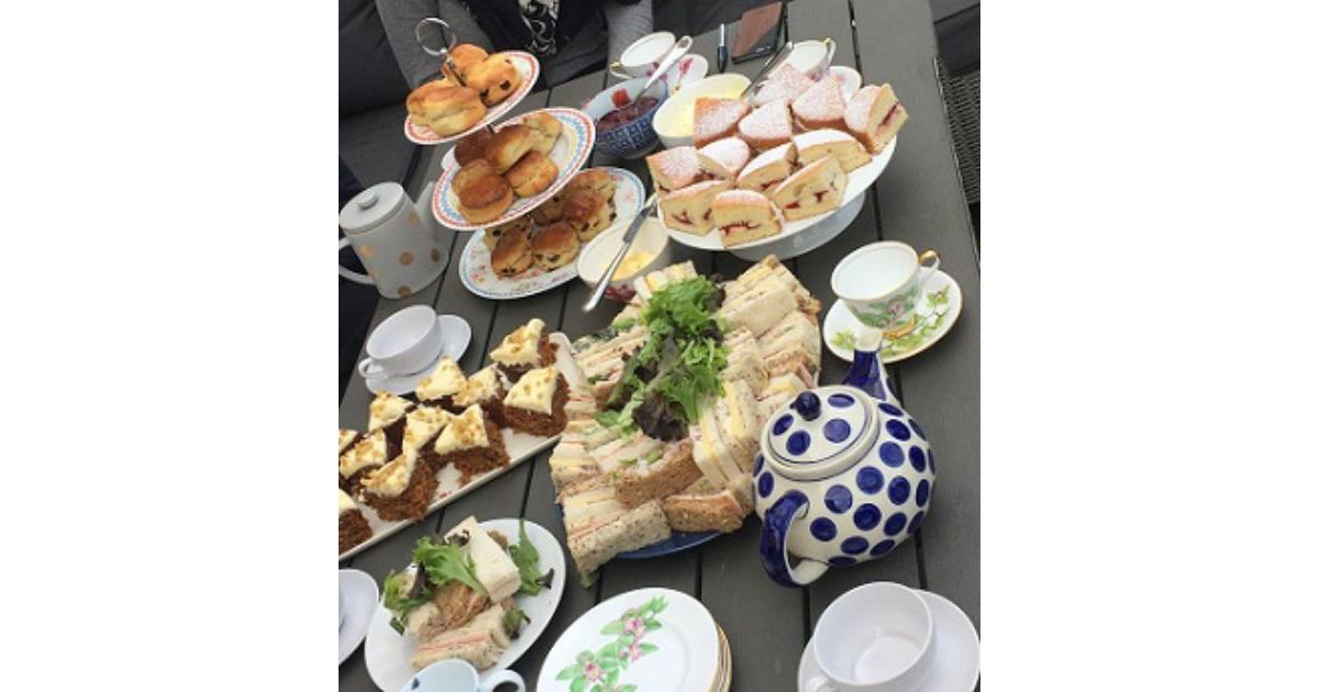 Mobile Afternoon Tea Hen Party Blackpool