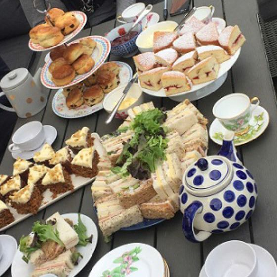 Mobile Afternoon Tea Hen Party Leeds