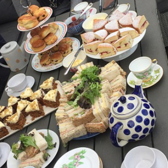 Mobile Afternoon Tea Hen Party Norwich