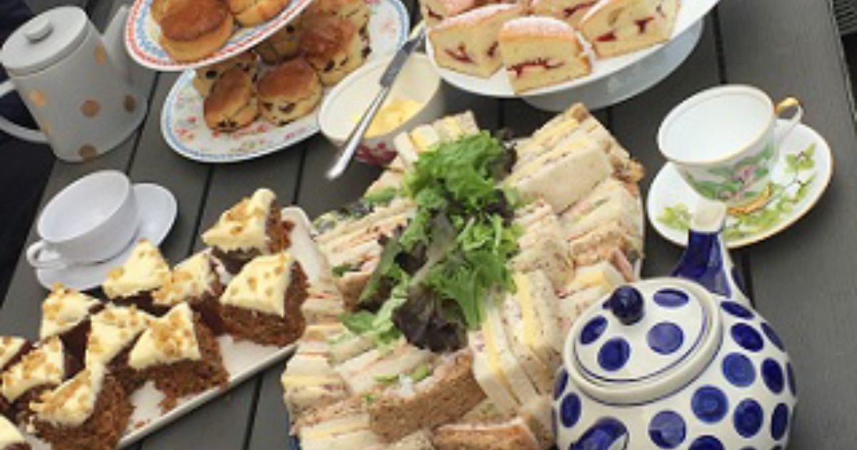 Mobile Afternoon Tea Hen Party Oxford