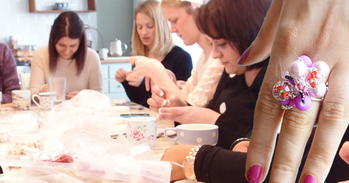 Mobile Ring Making & Cocktail Making Hen Party