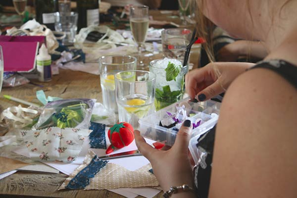 Mobile Bunting Craft Hen Party
