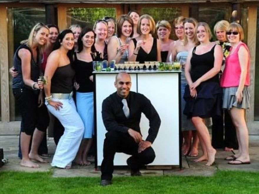 Mobile Cocktail Making Hen Party Essex