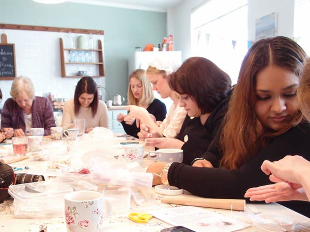 Hen Party Mobile Cocktail Ring Making